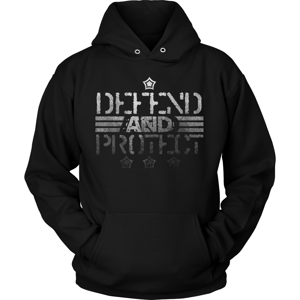 Defend Hero Veterans Day Support and Honor Hoodie