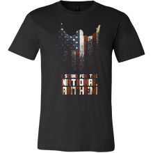 Proudly Stand For the National Anthem Patriots T-shirt