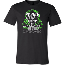 Anniversary Gift 30th, 30 Years Of Marriage, Couples T-Shirt