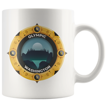 Olympic National Park Mug | Washington National Parks Art Coffee 11oz - 15oz Mug