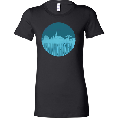 Windhoek Skyline Horizon Sunset Love Namibia Bella Shirt