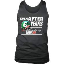 Funny Men's 6th Year Anniversary Statement Men's tank