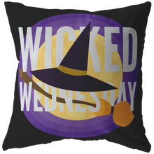Today is Wicked Wednesday Pillow