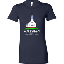Hometown Grytviken Capital of South Georgia Bella Shirt