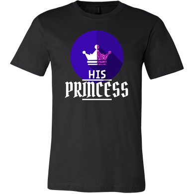 I am His Princess Royalty Matching Couple T-Shirts