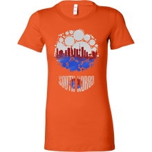 South Korea Skyline Horizon Sunset Love Country Bella Shirt