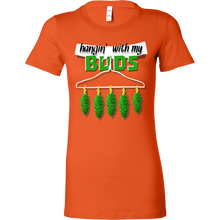 Hanging With My Buds Best Friends Funny Premium Bella Shirt