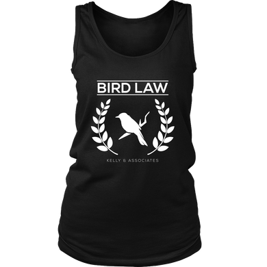 Bird Law Cute Birdy Lawyer Association Shirt Women's Tank Top