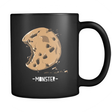 Cookie mug, The real chocolate chip monsta is here