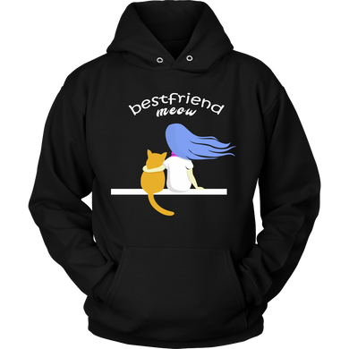 Best Friend Cat Pet Cats Lover Gift Hoodie