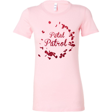 Cute Flower Petal Patrol Wedding Party Bella Shirt
