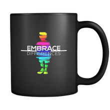 Embrace Differences Autism Awareness 11oz Mug