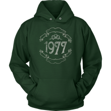 40th Birthday,Born in 1977,Forty B-day Hoodie