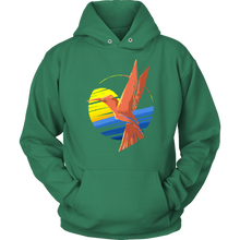 Bearded Mountaineer, Hummingbird Hoodie