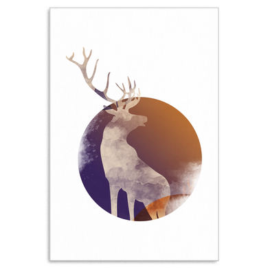 Deer Hunting, Love Hunting Animal Canvas Art