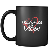 Honeymoon Vibes Wedding Marriage Party Squad 11oz Mug