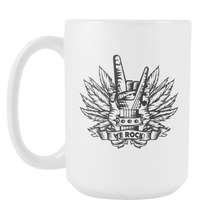 We Rock Rockers Rockin' It White 15oz Mug