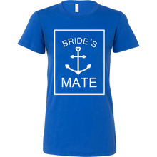 Bride's Mate Wedding Marriage Party Squad Celebration Bella Shirt