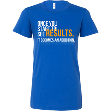 Once You Start To See Results Inspirational Motivational Bella Shirt