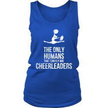 Funny Cheerleaders, The only Human Can Fly Sports Apparel