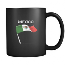 Mexico Mug State Flag Graphic Country Black Ceramic 11oz Mug