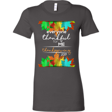 Thankful For Me Thanksgiving 2017 Share The Love Bella Shirt