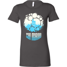San Marino Skyline Horizon Sunset Love Country Bella Shirt