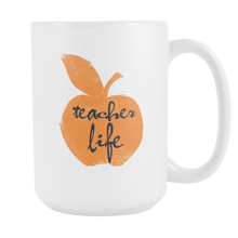 Teacher Life Motivator Educator Teaching 15oz Mug