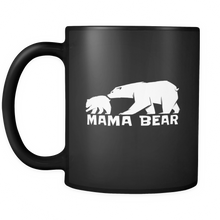 Mama Bear, Matching Family Bear Animal Camping Baby 11oz Mug