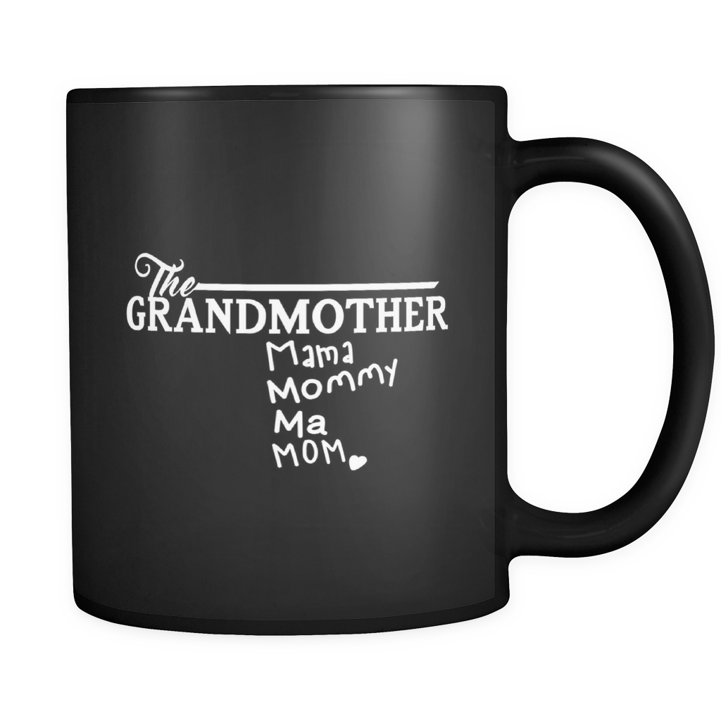 Coffee Mug Grandma - 'The Grandmother' Quote on ceramic 11oz mug