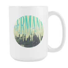 Germany Skyline Horizon Sunset Love Everything German White 15oz Mug