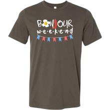 Bonjour Weekend, Funny Weekend T-Shirt