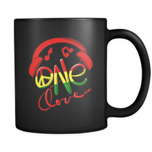 Jamaica One Love Reggae Carribean Music Pride Flag Mug