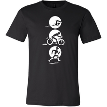 Triathlon, Running, Biking, Swimming Love Sports T-Shirt