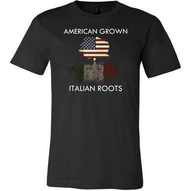 American Grown With Italian Roots Pride  Apparel