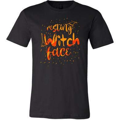 Halloween Night Happy Halloween Witch Face Apparel