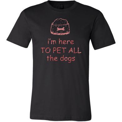 Pet All The Dogs Funny Dog Animal Pet Lover Apparel