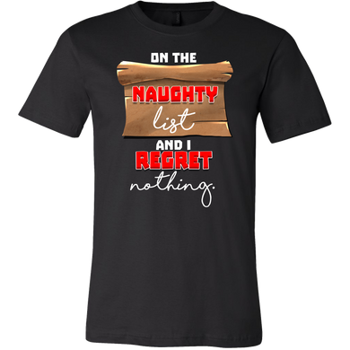 On The Naughty List No Regret  Apparel