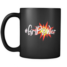 "Personalized Mugs ""Girl Power"" - 11 oz Travel Mug, Inspirational and Motivational Tea Mug"