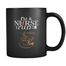 Nurse Mug with Funny Quote on Black 11 oz Mug