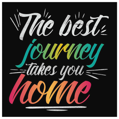 The Best Journey Takes You Home Canvas