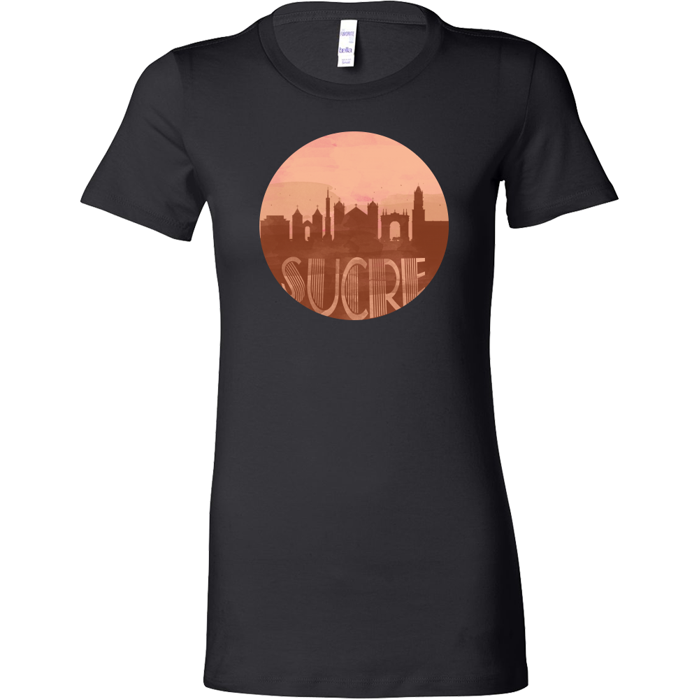 Sucre Skyline Horizon Sunset Love Bolivia Bella Shirt