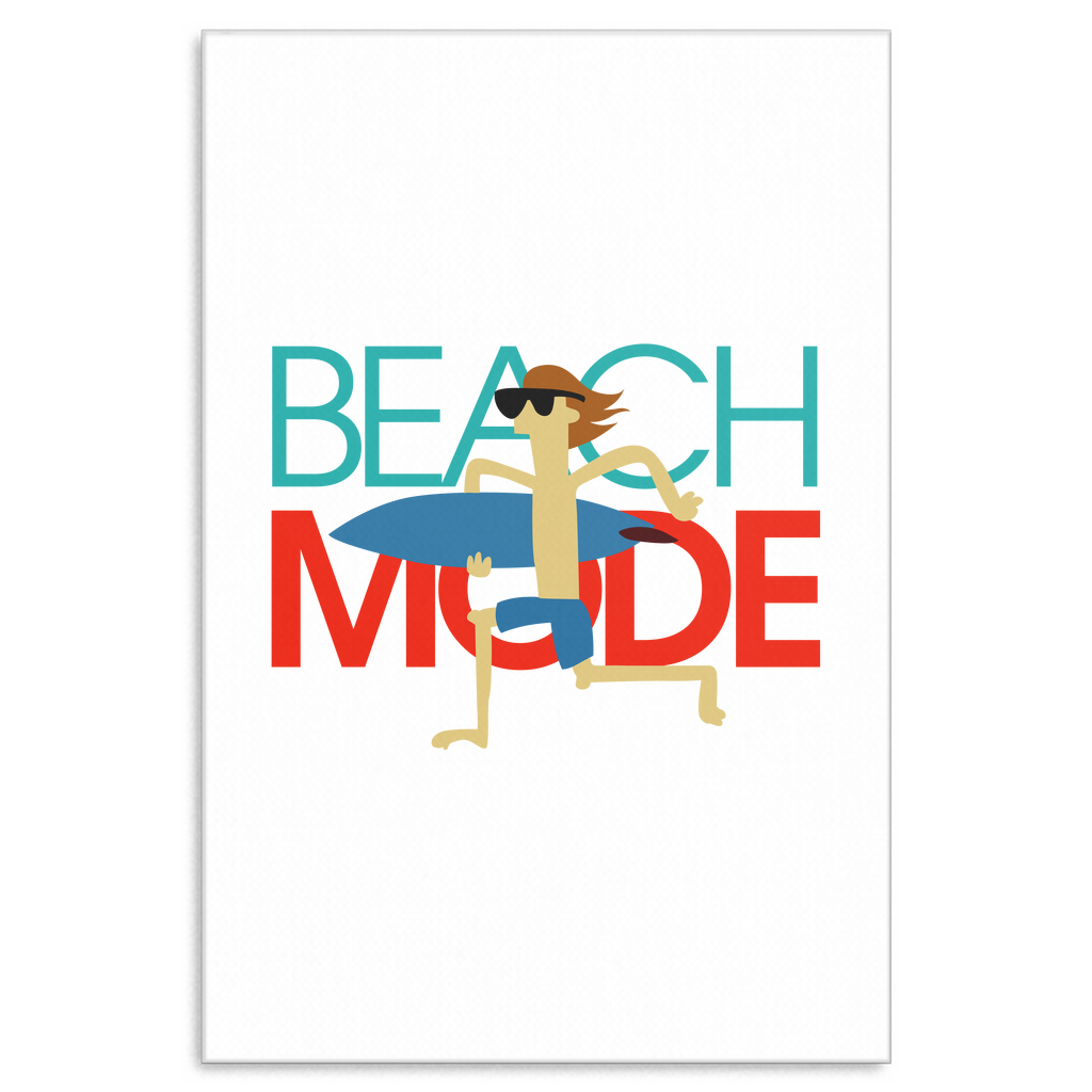Beach Mode Vacation Holiday Summer Vacation Canvas Art