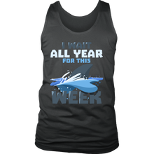 Shark Underwater Animal Ocean Sea Men's tank