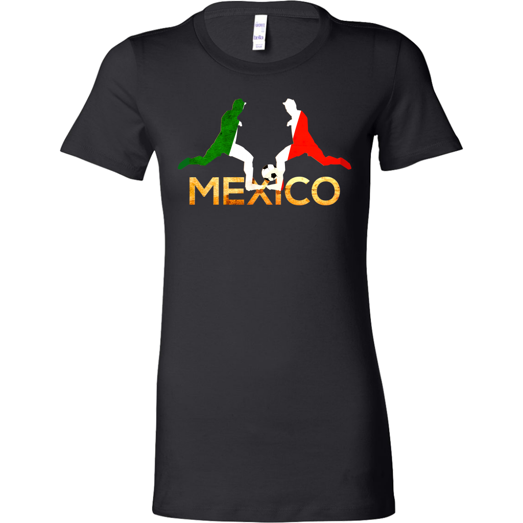 Mexico Soccer Mexican Football Sports Premium Bella Shirt