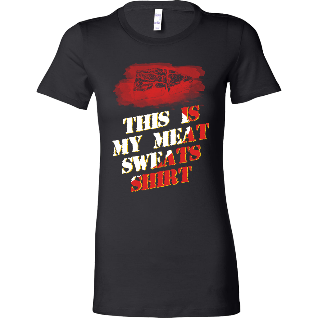 This is my Meat Sweats Shirt Funny BBQ and Grilling Bella Shirt