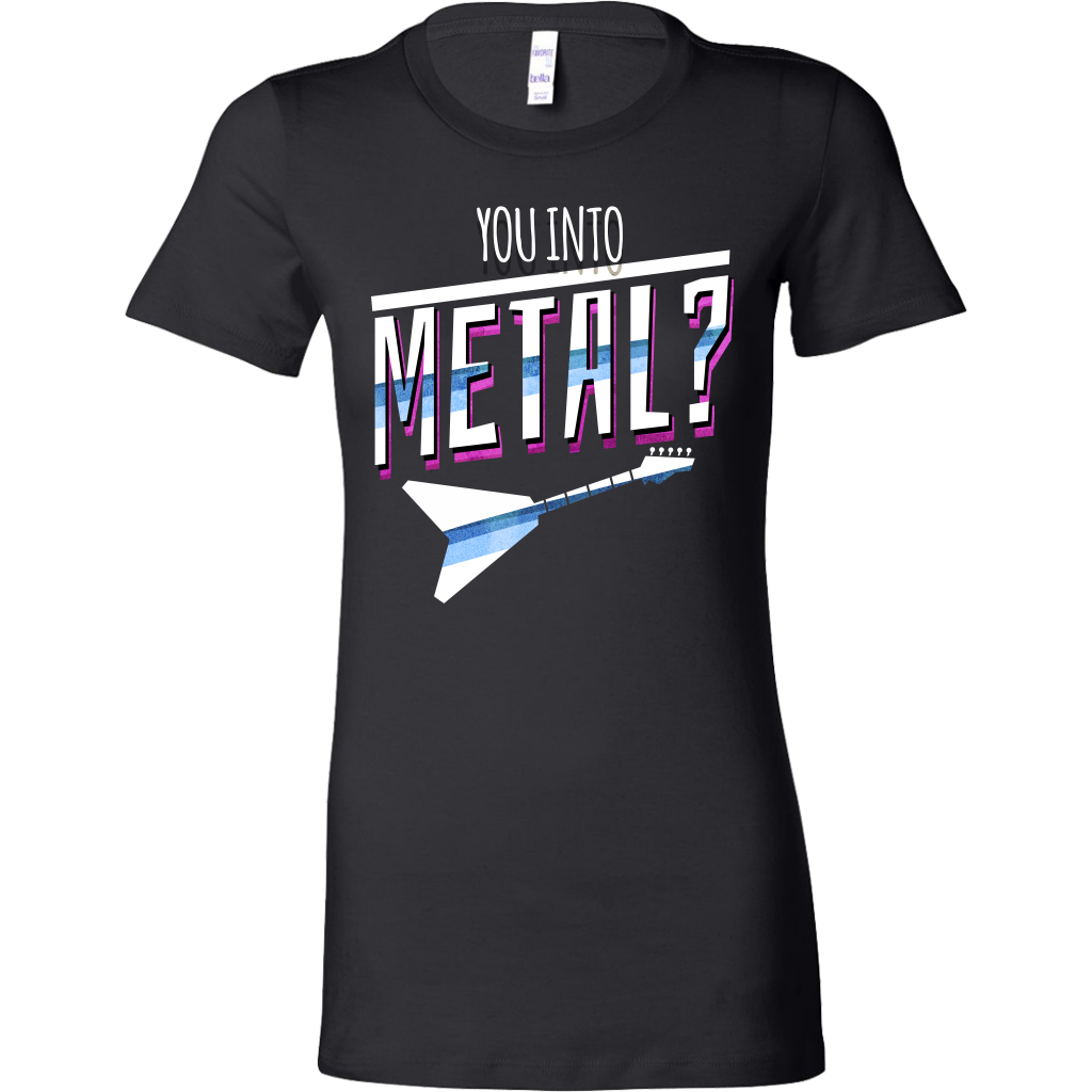 Musical Instrument Heavy Metal Plucking Guitar Lover Bella Shirt