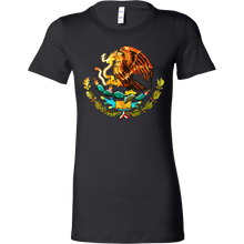 I Love Mexico: Mexico Coat of Arms Souvenir Bella Shirt