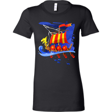 Viking Boat Mythology Historical Viking Bella Shirt