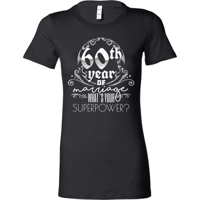 Anniversary Gift 60th, 60 Years Of Marriage, Bella Shirt